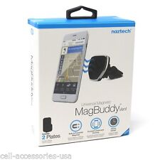 New Naztech MagBuddy Vent Universal Magnetic Air Vent Car Mount Holder
