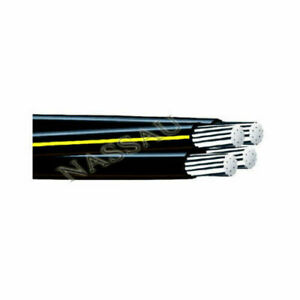 Notre Dame 1/0-1/0-1/0-2 Aluminum URD Direct Burial Cable Lengths 25' to 1000'