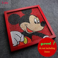 Diamond Painting Mickey Diy 5D Full Embroidery Rhinestone Stitch Kit Mosaic Kids