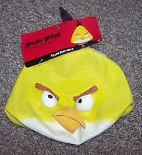 Angry Birds Yellow Bird Chuck Latex Costume Halloween Mask NWT