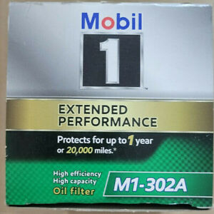Mobil 1 M1-302A Extended Performance Oil Filter, 1 Pack