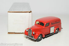 DURHAM FORD PANEL DELIVERY 1939 CHICAGO SUN TIMES VAN RED MINT BOXED