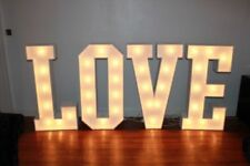 Unbranded Wooden Love Letters Wedding