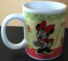 Pictorial Disney Coffee Mug/Cup - Minne, Mickey Mouse - Cookies - Solo Para Ti