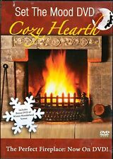 Set The Mood DVD - Cozy Hearth (DVD, 2006, Brand New)