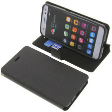 Etui F. Zte Lame V7 Lite Smartphone style portefeuille noire Gadget