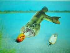 DOLPHIN  ULTRA LITE & FLY CASTING 1 1/2 IN 1/8 OZ. YELLOW LADY BUG DIVING LURE.