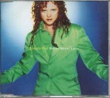 (697Z) Simpy Red, Never Never Love - DJ CD