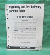OEM Assembly Guide Manual Suzuki Bandit 1200 GSF1200S K1 2001 01 99505-01021-03E