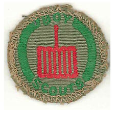 1960's AUSTRALIA / AUSTRALIAN SCOUTS - BOY SCOUT COOK Proficiency Badge