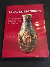 [18392-B96] Art du Verre - Joseph Philippe - Le Val-Saint-Lambert - Cristallerie