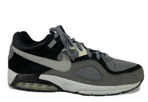 Men's Nike Air Max Go Strong Running Shoes 418115 012 Gray~Black~White Size 12