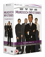 Murdoch Mysteries - Series 1 -3 Dvd Box Set New