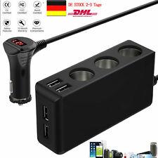 3Fach Auto KFZ-Adapter Zigarettenanzünder Verteiler MehrfachSteckdose 12V/24V