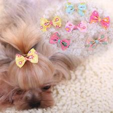 10pcs Pet Dog Hairpin Puppy Cat Hairgrips Yorkshire Shih Tzu Maltese Hair clip