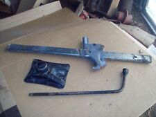 OEM 87 Mercury Grand Marquis Spare Tire Bumper Lift Jack Kit w/Crowbar, wrench