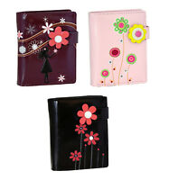 Shagwear Flora & Fauna Themed Short Magnetic Snap Bifold Wallet (Choose Design)