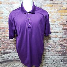 BROOKS BROTHERS PERFORMANCE KNIT COTTON SHORT SLEEVE POLO SHIRT SIZE L B05-23