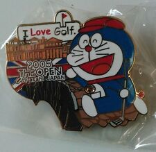 Doraemon Limited Pin Badge TV Asahi1-3 golf
