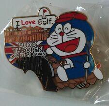 Doraemon Limited Pin Badge TV Asahi1-3 golf