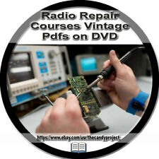 Radio Repair Courses Learn to 31 Pdfs  DVD Servicing Tools Instructions Vintage