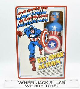 """Captain America Fly Away 12.5"""" NEW Mego 1979 Vintage Action Figure"""