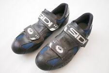 SIDI Clipless Pedal Road Biking Shoes Dual Strap Mens 40 US 6.5-7