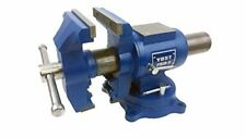 Durable Rotating Bench Vise 750-E Multi-Jaw Vise for the Home Craftsman