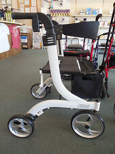 Drive Medical Nitro Euro Rollator Folding Walker Adult 4 Wheels 10266WH *NEW*