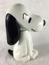 """Vintage PEANUTS GANG Ceramic SNOOPY Figurine 7.25"""" Tall"""