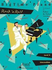 BigTime Piano: Rock 'n' Roll, Level 4 (1999, Paperback) Piano Lesson Book