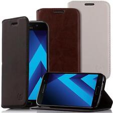 Schutz Hülle für Samsung Galaxy Handy Tasche Flip Cover Case Bumper Leder Etui