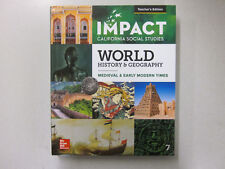 IMPACT California Social Studies World History & Geography Teacher's 0076755886