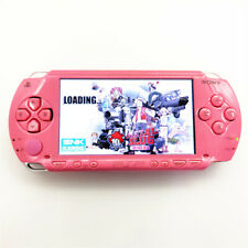 Pink Refurbished Sony PSP 1000 Handheld System Game Console +Memory Card+Charger
