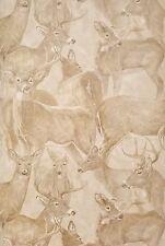 Oh Deer, Oh Deer Sketched Toile Wallpaper HG552