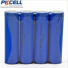 4 PKCELL Vape Torch 18650 Li-ion Rechargeable Battery Batería Pila 3.7V 2600mAh