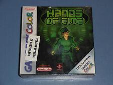 HANDS OF TIME GBC PAL ESP GAME BOY COLOR PRECINTADO NEW