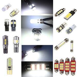 Car LED lights Bulb T10 Festoon Canbus C5W COB W5W C5W Lamp interior light Bulbs