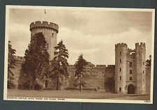Ca 1910 RPPC* Warwick Castle Guys Tower & Clock Tower UK Mint
