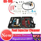 Car Vehicle Petrol Fuel Injector Washing Cleaner Cleaning Tool Kit w/Suitcase US