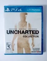 Uncharted The Nathan Drake Collection PS4 Game Sony PlayStation 4 New Sealed