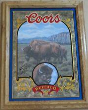 Buffalo - Coors Beer Mirror