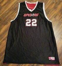 Upward Adult 2XL Basketball Jersey Reversible Red & Black #22 Polyester Jersey