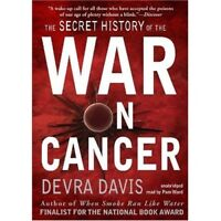 The Secret History of the War on Cancer:  MP3CD Audiobook