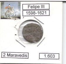 Felipe III  2 Maravedís  1603  Ceca Segovia   NL319