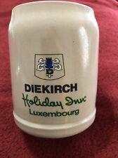 Holiday Inn Luxembourg 1985 Stein~ Brasserie Diekirch by Rastal