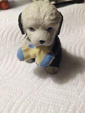 Adorable Ceramic Old English Sheep Dog Figurine - Puppy Pals 8917 - H J & G