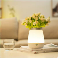 Modern Plant Pot with LED Lights,Atmosphere Decorative Vase LED Vase Flower Pot