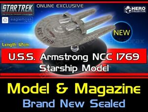 Eaglemoss Star Trek The Starship Collection: U.S.S. Armstrong NCC 1769 In-Stock