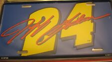 ,Nascar Lot License Plate Collection In Storage Case With 10 Metal Plates